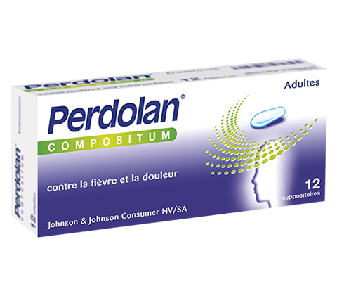 PERDOLAN® Compositum pour adultes (suppos)